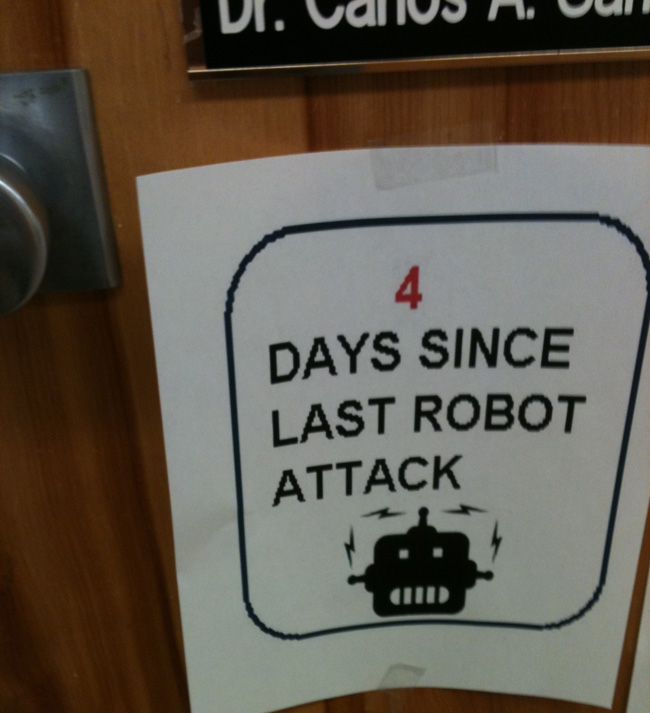 4 Days Since Last Robot Attack