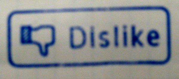 Dislike stamp